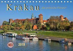 Krakau – das polnische Florenz (Tischkalender 2019 DIN A5 quer) von Roder,  Peter