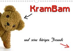 KramBam und seine bärigen Freunde (Wandkalender 2021 DIN A4 quer) von Berg + Antje Lindert-Rottke,  Martina