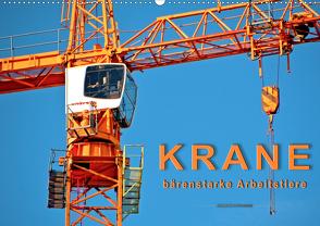 Krane – bärenstarke Arbeitstiere (Wandkalender 2021 DIN A2 quer) von Roder,  Peter
