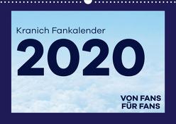 Kranich Fankalender (Wandkalender 2020 DIN A3 quer) von & @Fly.wundAIRlich,  @lufthansa.fanpage
