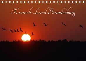 Kranich-Land Brandenburg (Tischkalender 2018 DIN A5 quer) von Konieczka,  Klaus