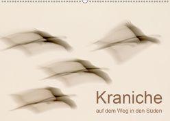 Kraniche auf dem Weg nach Süden (Wandkalender 2019 DIN A2 quer) von Wilhelm,  N.
