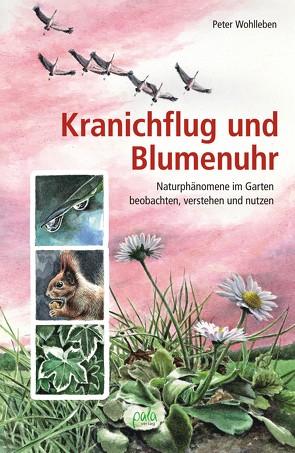 Kranichflug und Blumenuhr von Schneevoigt,  Margret, Wohlleben,  Peter