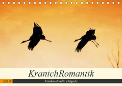 KranichRomantik (Tischkalender 2019 DIN A5 quer) von Delgado,  Julia