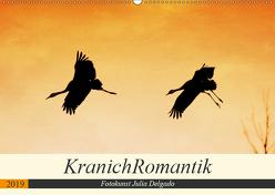 KranichRomantik (Wandkalender 2019 DIN A2 quer) von Delgado,  Julia
