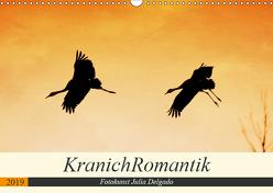 KranichRomantik (Wandkalender 2019 DIN A3 quer) von Delgado,  Julia