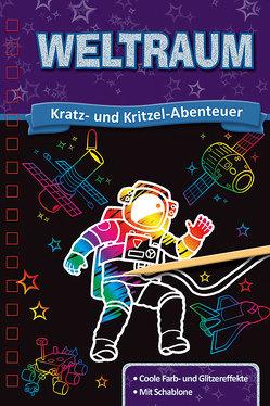 Kratzbuch: Weltraum