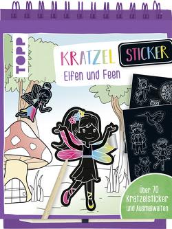 Kratzel-Stickerbuch Elfen und Feen von frechverlag