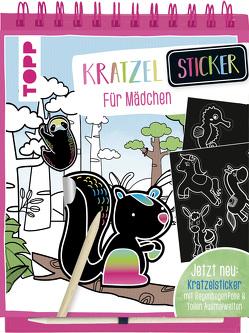Kratzel-Stickerbuch für Mädchen von frechverlag