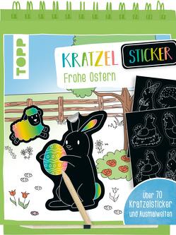 Kratzel-Stickerbuch Ostern von frechverlag