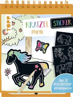 Kratzel-Stickerbuch Pferde von frechverlag