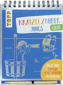 Kratzelzauber Color Jungs von frechverlag