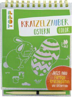Kratzelzauber Color Ostern von frechverlag