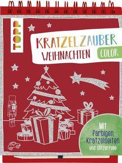Kratzelzauber Color Weihnachten von frechverlag