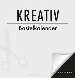 Kreativ-Bastelkalender – immerwährend – schwarz – (21 x 22)