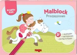 Kreativ Kids – Malblock Prinzessinnen von Herbig,  Teresa, Schröder,  Mirka
