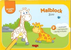 Kreativ Kids – Malblock Zoo von Filipiak,  Anna Lena, Herbig,  Teresa