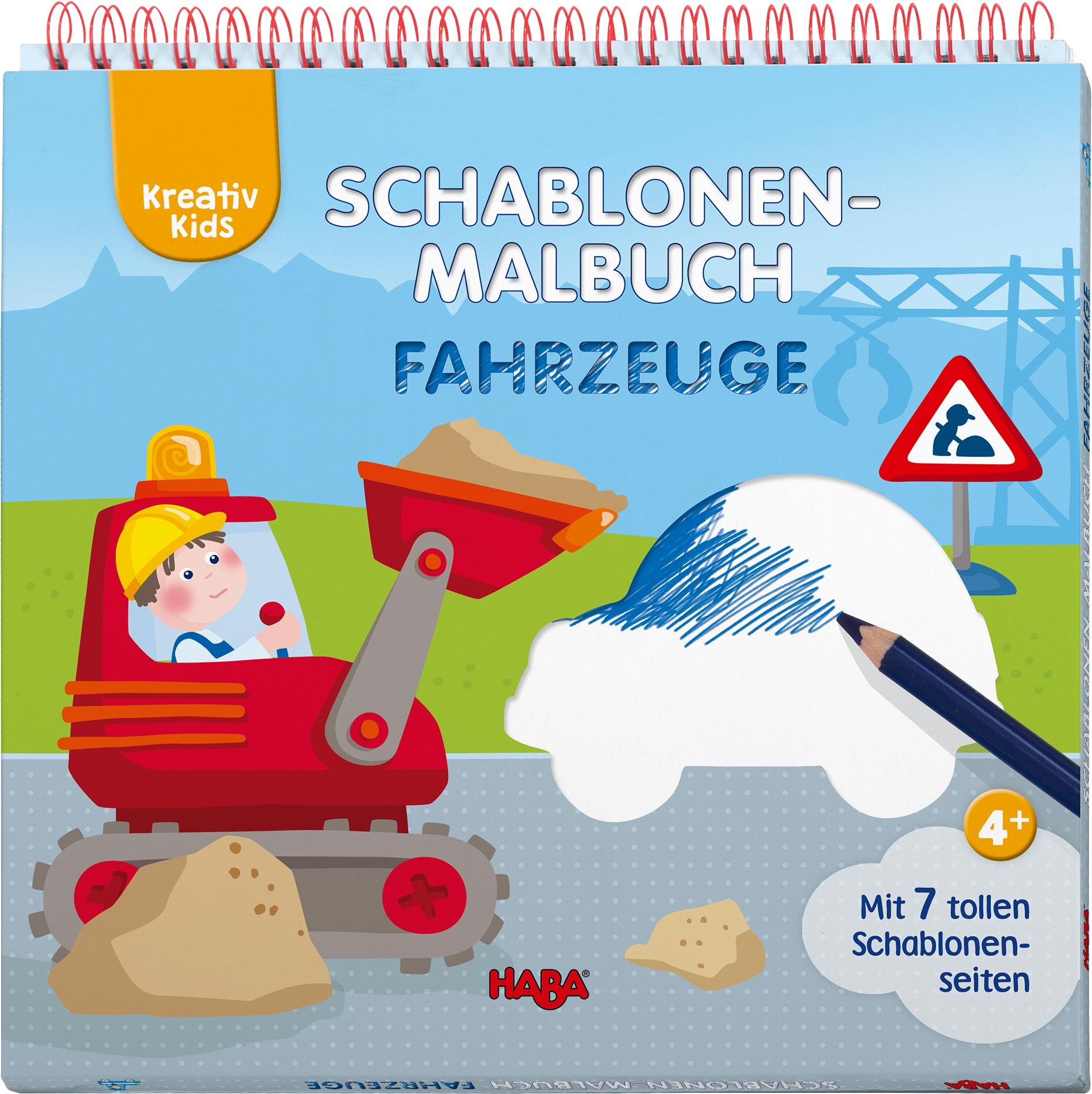 Kreativ Kids Schablonen Malbuch Fahrzeuge Von Bauroth Nadin Fili