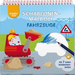 Kreativ Kids – Schablonen-Malbuch Fahrzeuge von Bauroth,  Nadin, Filipiak,  Anna Lena, Frömelt,  Ines, Neundorfer,  Jutta, Schröder,  Mirka