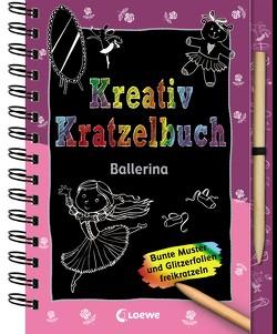 Kreativ-Kratzelbuch: Ballerina von Jäger,  Katja