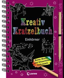 Kreativ-Kratzelbuch: Einhörner von Labuch,  Kristin