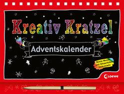 Kreativ-Kratzelbuch / Kreativ-Kratzel-Adventskalender von Loske,  Judith