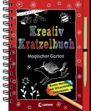 Kreativ-Kratzelbuch: Magischer Garten von Hattenhauer,  Ina