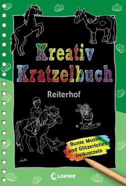 Kreativ-Kratzelbuch: Reiterhof von Paehl,  Nora