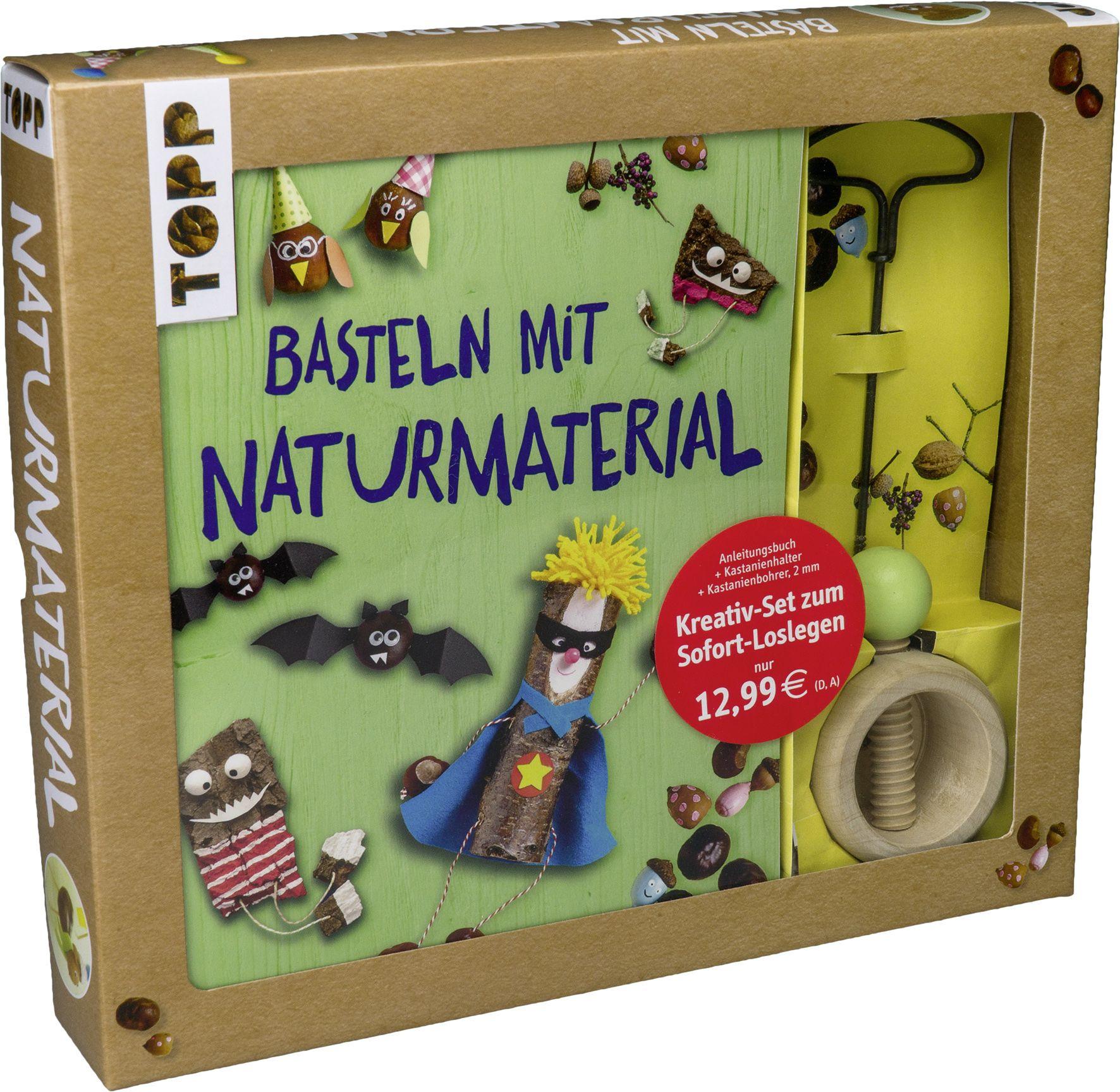 Kreativ Set Basteln Mit Naturmaterial Von Deges, Pia