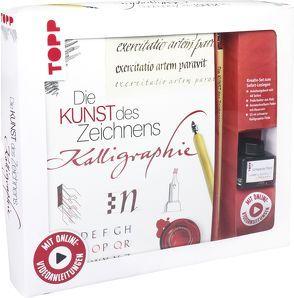 Kreativ-Set Die Kunst des Zeichnens Kalligraphie von Lux,  Andreas