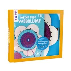 Kreativ-Set Meine süße Webblume (Buch + Material) von Heintzen,  Sabine