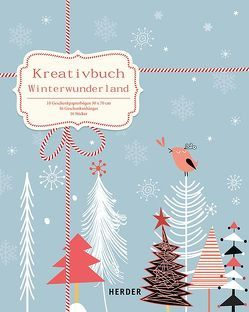 Kreativbuch Winterwunderland von Manneh,  Lisa