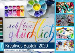 Kreatives Basteln 2020. Impressionen von Mensch und Material (Wandkalender 2020 DIN A2 quer) von Lehmann (Hrsg.),  Steffani