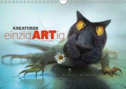 Kreaturen einzigARTig – skurrile Tierbilder (Wandkalender 2019 DIN A4 quer) von Melech,  Frank