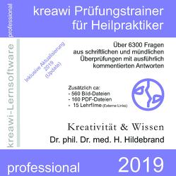 kreawi Prüfungstrainer für Heilpraktiker von Hildebrand,  Hartmut