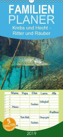Krebs und Hecht – Ritter und Räuber unserer Seen – Familienplaner hoch (Wandkalender 2019 <strong>21 cm x 45 cm</strong> hoch) von Suttrop,  Christian