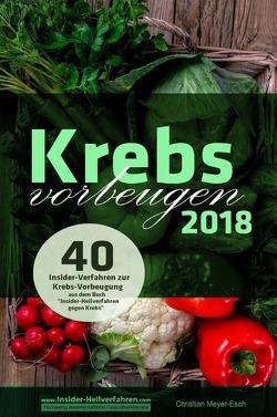Krebs vorbeugen 2018 von Meyer-Esch,  Christian