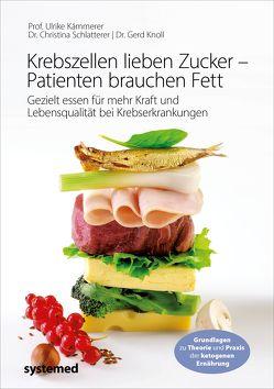Krebszellen lieben Zucker – Patienten brauchen Fett von Kämmerer,  Ulrike, Knoll,  Gerd, Schlatterer,  Christina