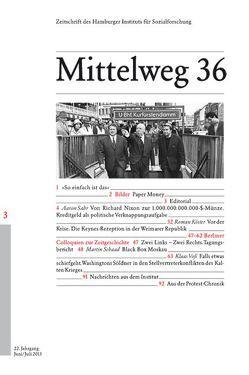 Kredit, Keynes & Krieg von Köster,  Roman, Kraushaar,  Wolfgang, Sahr,  Aaron, Schaad,  Martin, Voß,  Klaas