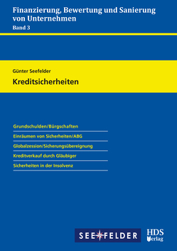 Kreditsicherheiten von Seefelder,  Günter