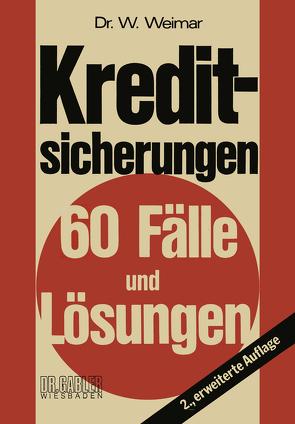 Kreditsicherungen von Weimar,  Wilhelm
