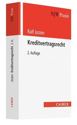 Kreditvertragsrecht von Josten,  Ralf