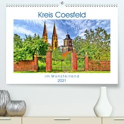 Kreis Coesfeld im Münsterland – Stadt Land Fluß (Premium, hochwertiger DIN A2 Wandkalender 2021, Kunstdruck in Hochglanz) von Michalzik,  Paul
