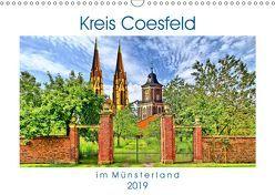 Kreis Coesfeld im Münsterland – Stadt Land Fluß (Wandkalender 2019 DIN A3 quer) von Michalzik,  Paul