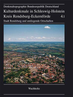 Kreis Rendsburg-Eckernförde. Stadt Rendsburg und umliegende Ortschaften von Lafrenz,  Deert, Wilde,  Lutz