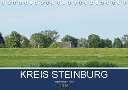 Kreis Steinburg (Tischkalender 2018 DIN A5 quer) von Busch,  Martina