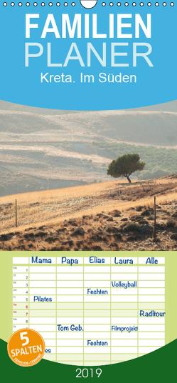 Kreta. Im Süden – Familienplaner hoch (Wandkalender 2019 , 21 cm x 45 cm, hoch) von Wagner,  Markus