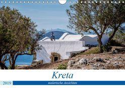 Kreta – malerische Ansichten (Wandkalender 2019 DIN A4 quer) von Schwarz,  Nailia