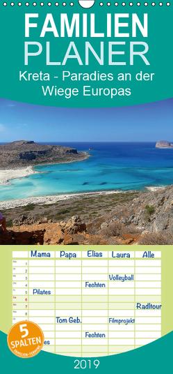 Kreta – Paradies an der Wiege Europas – Familienplaner hoch (Wandkalender 2019 , 21 cm x 45 cm, hoch) von Wilson Kunstmotivation GbR,  Cristina