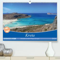 Kreta – Paradies an der Wiege Europas (Premium, hochwertiger DIN A2 Wandkalender 2020, Kunstdruck in Hochglanz) von Wilson Kunstmotivation GbR,  Cristina